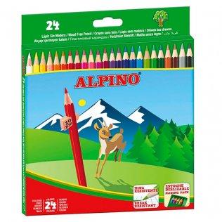 Lápices de colores Alpino 24 unid
