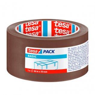 Cinta de precinto Basic marrón Tesa 50mm x 66m