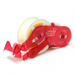 Recambio cinta adhesiva MX TG0944 permanente 15mmx12m Plus