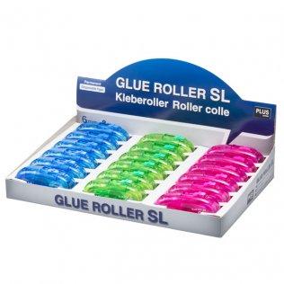 Pegamento Roller Plus SL 6 mmx8m expositor 8 ud