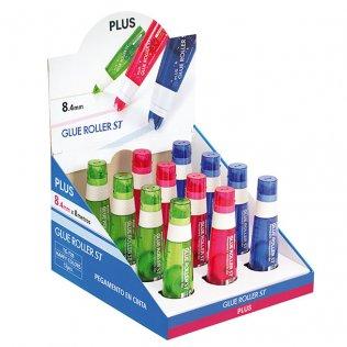 Cinta adhesiva Plus ST Expositor 12 ud.