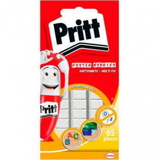 Masilla Adhesiva Multi Tack Pritt 65 pastillas