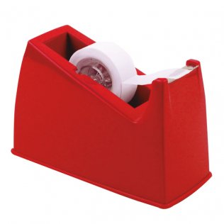 Portarrollos de sobremesa Plus Office 505 rojo