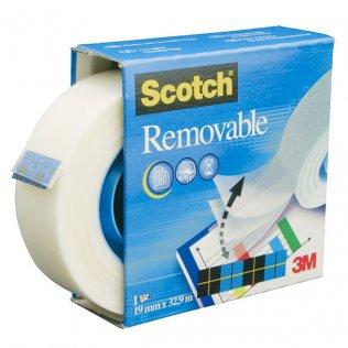 Cinta adhesiva Scotch Magic 19mmx33m removible