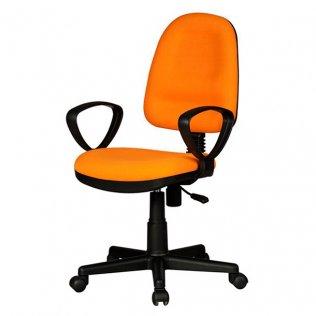 Silla oficina Giro Plus Naranja Makro Paper