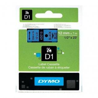 Cinta dymo 45016 negro-azul 12mm x 7mt d1.