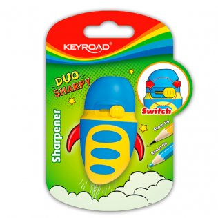Afilalápiz Duo Sharpy KeyRoad con depósito