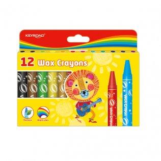 Ceras plásticas KeyRoad Wax Crayon 12 colores