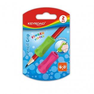Adaptador para lápices KeyRoad Finger Fitter / 2 unid