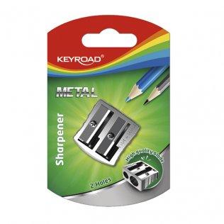 Afilalápiz KeyRoad Metal Doble
