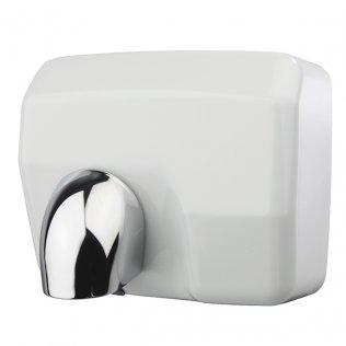 Secador de manos óptico acero inoxidable blanco