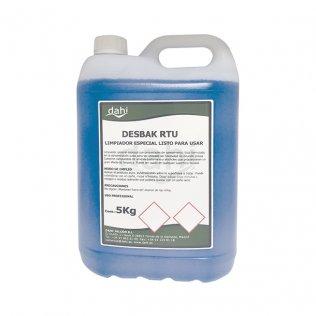 Limpiador bactericida especial Desbak RTU 5L