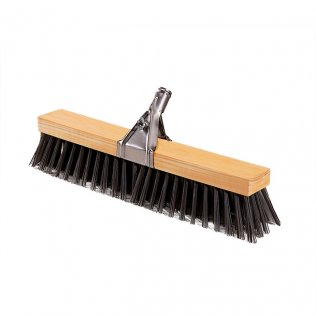 Cepillo de barrer de madera