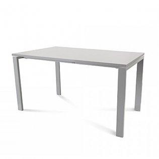 Mesa Rocada Total 140x80cm Aluminio/Gris
