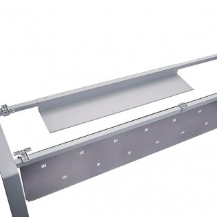 Pasacables Rocada aluminio 97x22x6cm