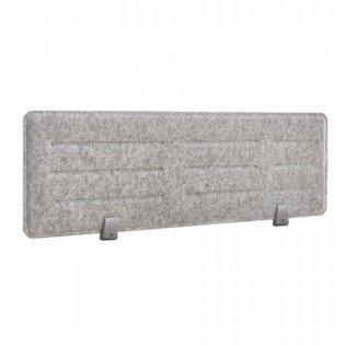 Panel acústico sobremesa Rocada 118x34cm gris
