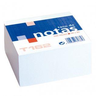 Taco de notas blancas 90x90mm 500 hojas Makro Paper