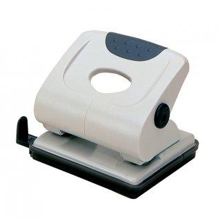 Perforador sobremesa Plus Office 175 Gris claro