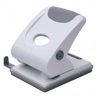 Perforador sobremesa Plus Office 190 Gris