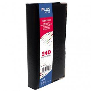 Tarjetero Plus Office tapa rígida 240 tarjetas