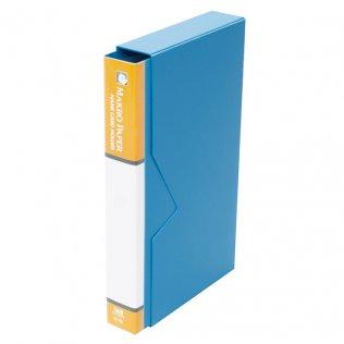 Tarjetero de polipropileno 168 tarjetas Makro Paper
