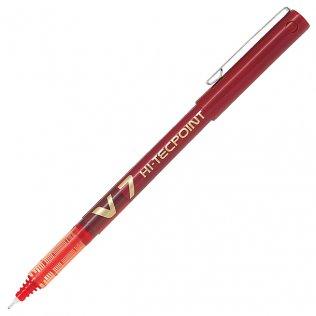 Bolígrafo Roller Pilot V-7 Rojo