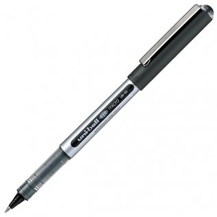 Bolígrafo Roller Uni-Ball UB-150 Eye Micro Negro