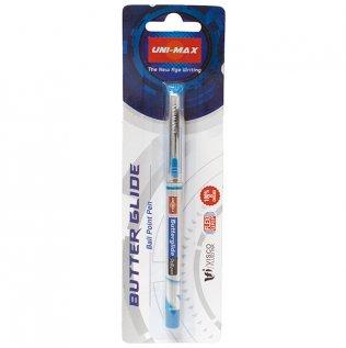 Bolígrafo Roller Plus Office Butterglide Azul Blíster