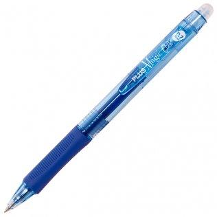 Bolígrafo Borrable Plus Magic Click Azul 0,7 mm