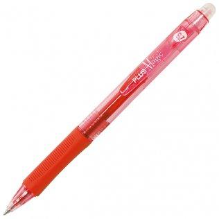 Bolígrafo Borrable Plus Magic Click Rojo 0,7 mm