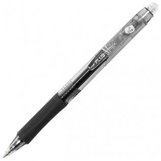 Bolígrafo Borrable Plus Magic Click Negro 0,7 mm