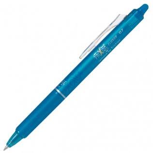 Bolígrafo Borrable Pilot Frixion Clicker Azul Claro Blíster