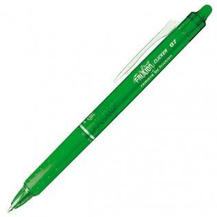 Bolígrafo Borrable Pilot Frixion Clicker Verde Claro Blíster