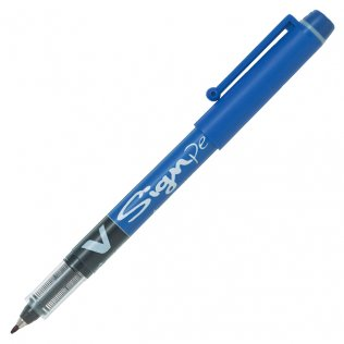 Bolígrafo Roller Pilot V-Sign Pen Azul