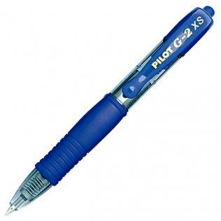 Bolígrafo Pilot G-2 XS Pixie Azul Tinta Gel