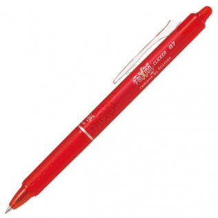 Bolígrafo Borrable Pilot Frixion Clicker Rojo