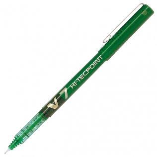 Bolígrafo Roller Pilot V-7 Verde