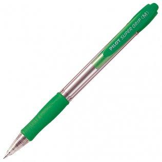 Bolígrafo Pilot Super Grip Verde 0,4 mm