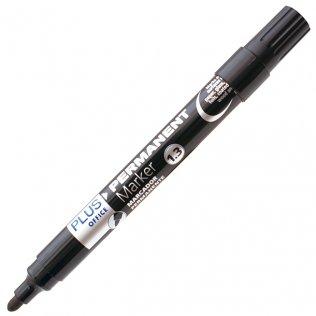 Rotulador Plus Office Permanent Marker 3 Negro 1,3 mm