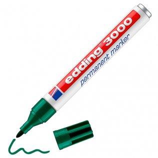 Rotulador Permanente edding 3000 Verde 1,5-3 mm