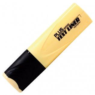 Marcador Fluorescente Plus Office Text Liner Amarillo Pastel