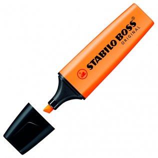 Marcador Fluorescente Stabilo Boss Original Naranja