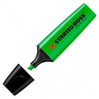 Marcador Fluorescente Stabilo Boss Original Verde