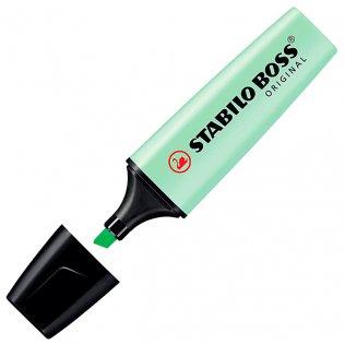 Marcador Fluorescente Stabilo Boss Original Menta Pastel