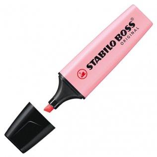 Marcador Fluorescente Stabilo Boss Original Rosa Pastel