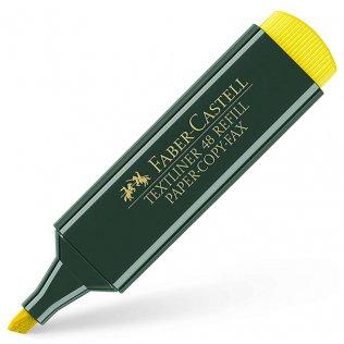 Marcador Fluorescente Faber-Castell 48 Amarillo