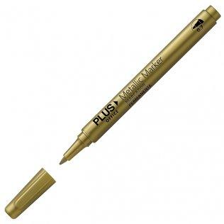 Marcador Plus Office Metallic Marker Oro 0,7 mm