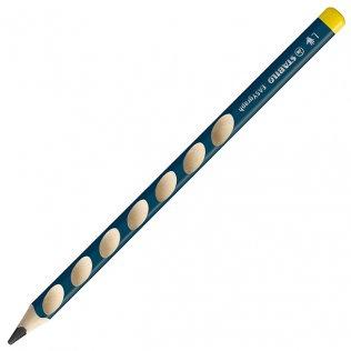 Lápices de grafito Stabilo Easy Graph HB Zurdos 6 ud