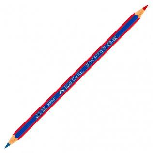 Lápiz bicolor Azul/Rojo Faber-Castell mina 3mm