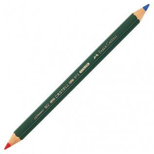 Lápiz bicolor grueso Azul/Rojo Faber-Castell mina 5,4mm
